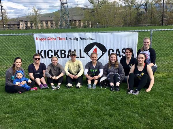 Kappa Alpha Theta Kickball for CASA Tournament
