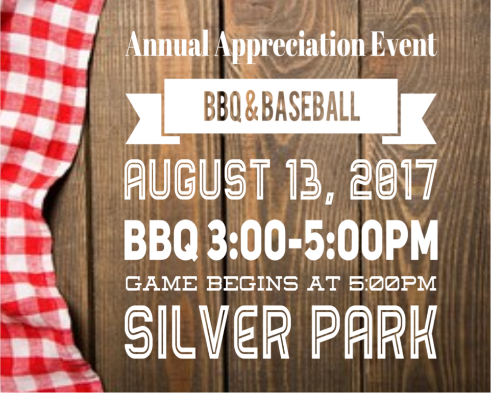Annual Appreciation Event August 13, 2017
